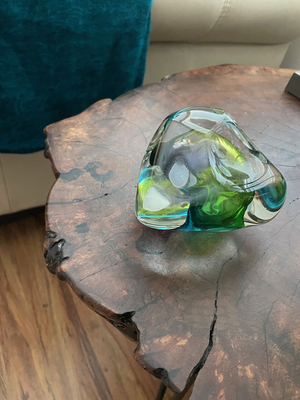 Free-form Glass Paperweight